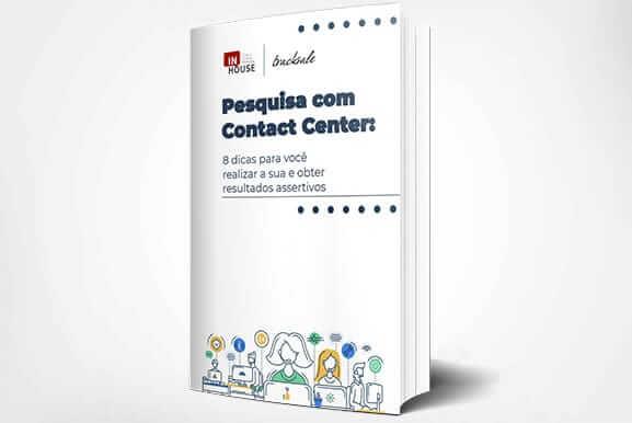 pesquisa com contact center