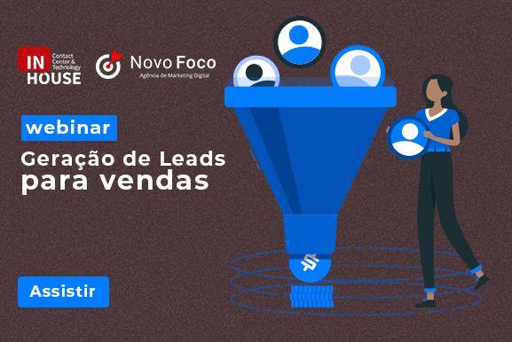 webinar geração de leads para vendas