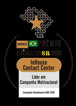 Premio clienteSA 2020 - lider em campanha motivacional
